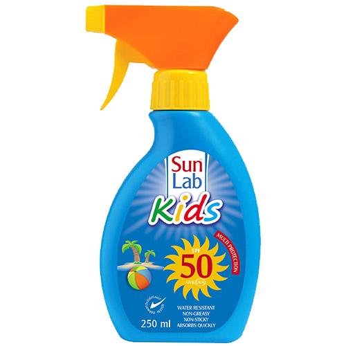 Sun Lab Kids 50SPF Lotion Spray