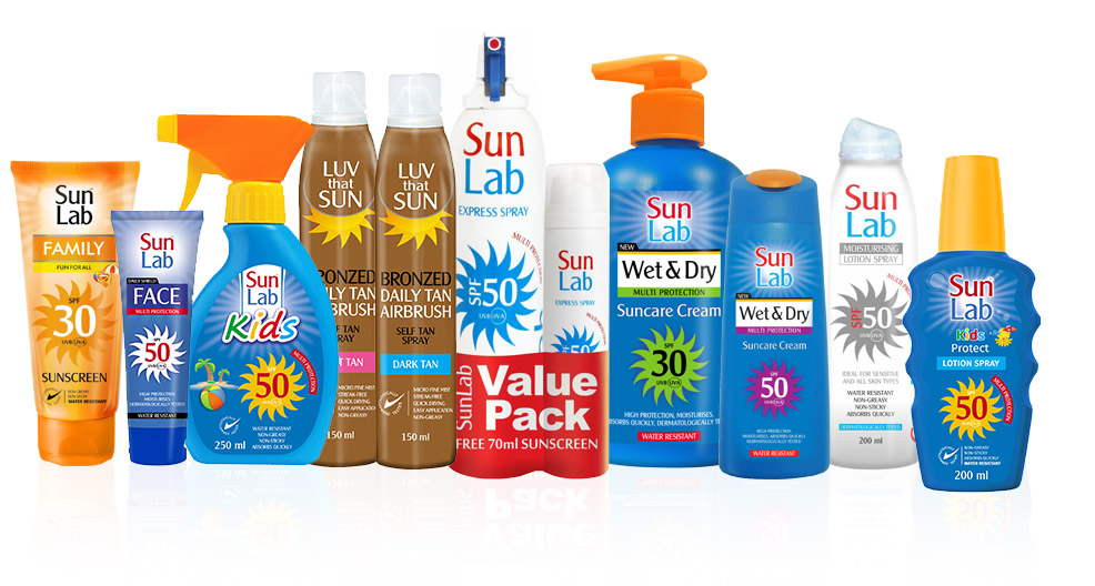 Sun Lab Product Range